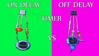 Video ON Delay vs OFF Delay Timer Circuit MP3, 3GP, MP4, WEBM, AVI, FLV April 2019