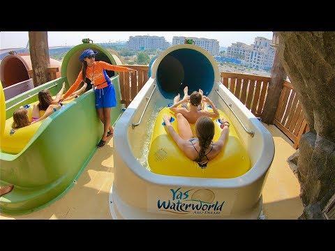 Yas Waterworld Abu Dhabi - Waterslides