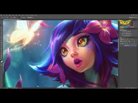 Neeko Animated - League of Legends - Timelapse - Thời lượng: 13 phút.