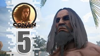 Getting Iron! - EP05 - CONAN EXILES (Removing The Bracelet)