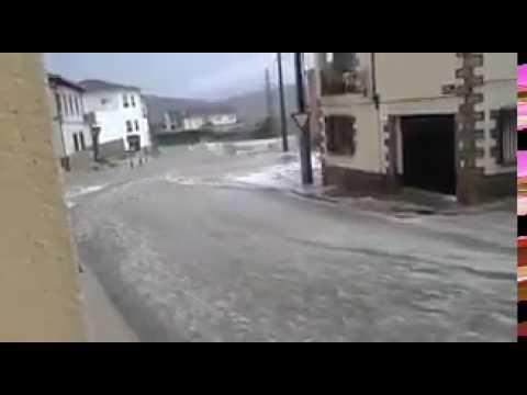 inundaciones en Cenicientos Madrid 07/07/17