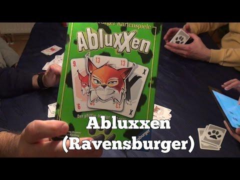 Test Abluxxen (Ravensburger): Rezension und Beispielrunde von Spiele-Podcast.de
