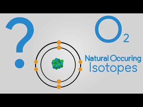 Model of Oxygen Atom - Science Project