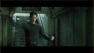 the matrix neo vs mr. smith subway fight