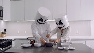 Video Cooking with Marshmello: How To Make Chocolate Marshmello Pie (Mother's Day Edition) MP3, 3GP, MP4, WEBM, AVI, FLV Mei 2018
