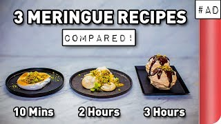 3 Meringue Recipes COMPARED by SORTEDfood