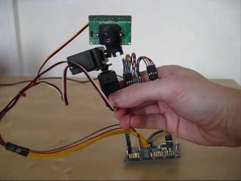 IMU camera control / stabilisation