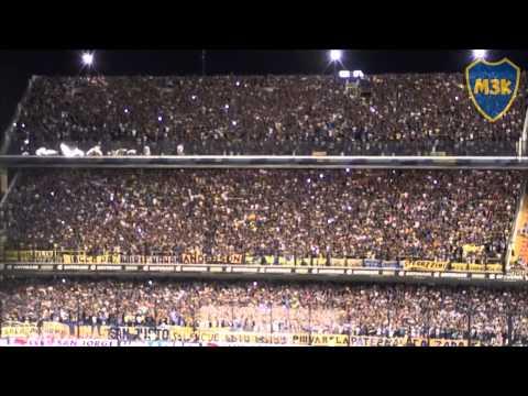Video - Boca Indepte 2014 / Gol de ellos - Esta hinchada siempre alienta - La 12 - Boca Juniors - Argentina