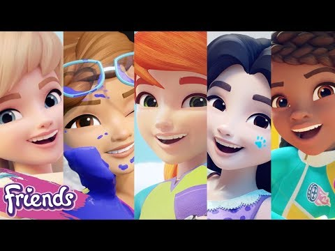 LEGO Friends Character Spot 2018 Compilation - Meet Olivia, Andrea, Emma, Mia, Stephanie !