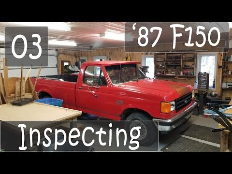 Grinding and Inspecting the undercarriage | Truck Refurbish - EP03