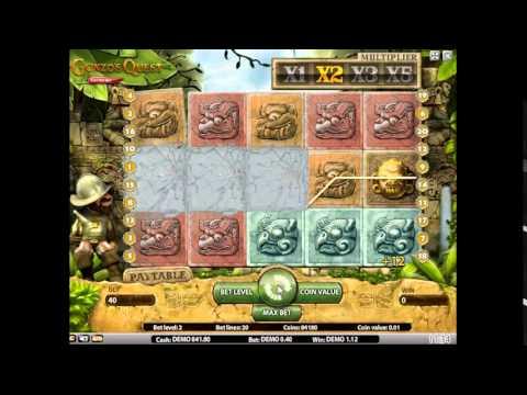 Прибыльный игровой автомат Гонзо Квест Экстрим - видео обзор от Slot-OK.com