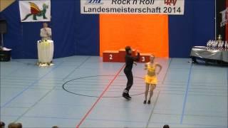 Anja Westermayer & Lorenz Rädler - Landesmeisterschaft Rheinland- Pfalz 2014