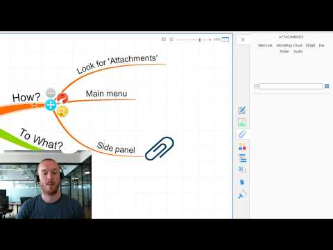 Adding links in iMindMap