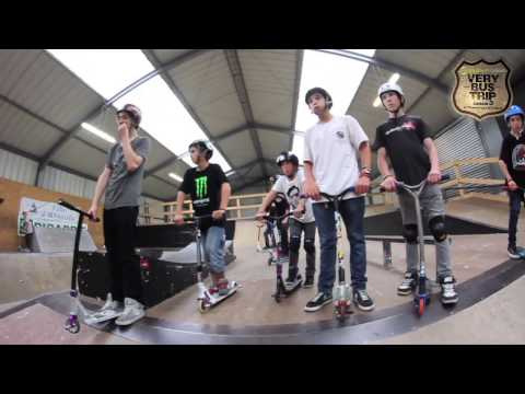 Nomade Very Bus Trip #2 Saison 3 Session trot Skate Park Abbeville