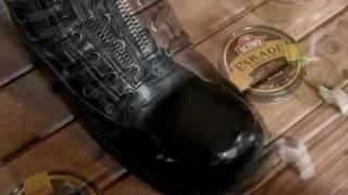 Video How to shine boots with kiwi polish MP3, 3GP, MP4, WEBM, AVI, FLV Juni 2018