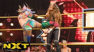 Aliyah vs. Asuka: WWE NXT, Aug. 3, 2016