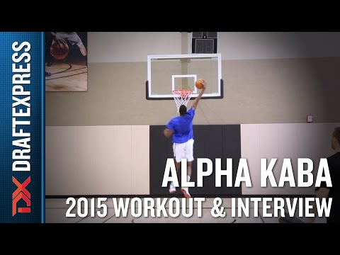 Alpha Kaba 2015 Pre-Draft Workout Video - DraftExpress