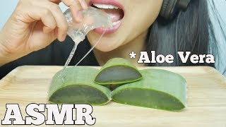 ASMR ALOE VERA CHALLENGE (Soft Sticky, Crunchy SOUNDS) NO TALKING | SAS-ASMR