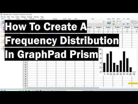 How To Create A Frequency Distribution In GraphPad Prism