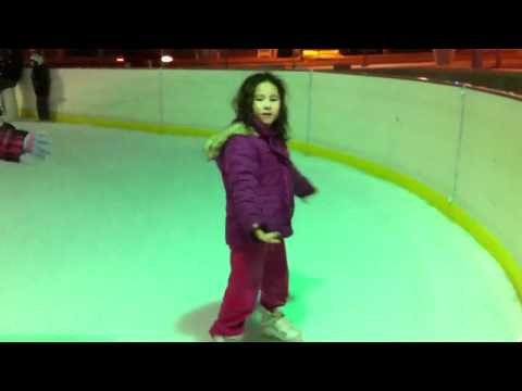 fs2453 - Abigail spinning again on the ice.
