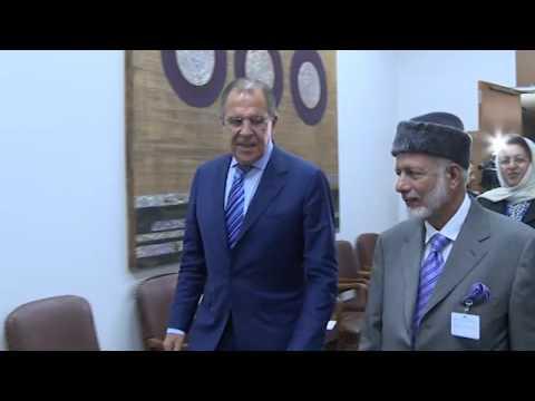 Sergey Lavrov and Yusuf bin Alawi | С.В.Лавров и Ю.Аляви