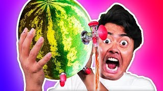 Video Trying Weird Watermelon Gadgets You Never Knew About! MP3, 3GP, MP4, WEBM, AVI, FLV Oktober 2018