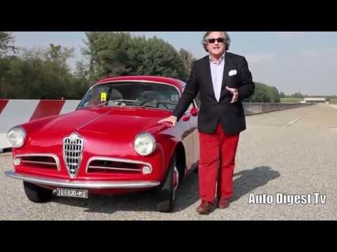 alfa romeo giulietta sprint veloce 1957 - test drive