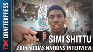 Simi Shittu 2015 Adidas Nations Interview