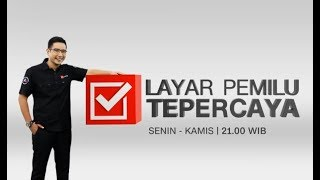 Video Live! Jokowi atau Prabowo yang Dipilih Milenial? | Layar Pemilu Tepercaya MP3, 3GP, MP4, WEBM, AVI, FLV Agustus 2018