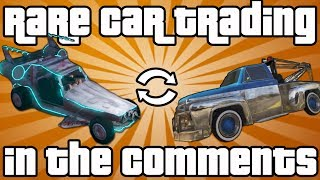 GTA 5 Online: Rare Vehicle Trading In Comments (Space Docker, Snowy Cars, Tow Truck&More)