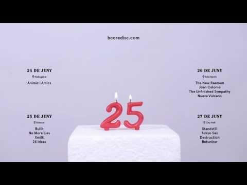 BCore Disc 25 Aniversario: Teaser 4