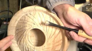 #13 Spiral top Hollowform with a wing (Tutorial)