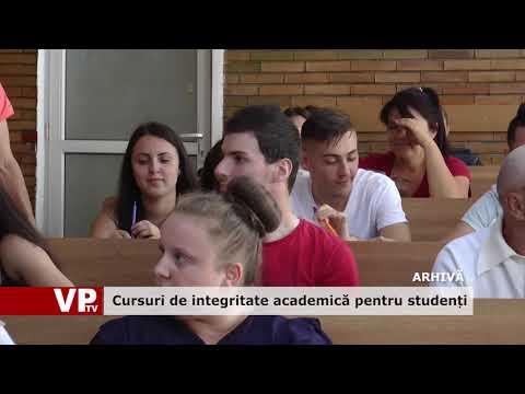 Cursuri de integritate academică pentru studenți
