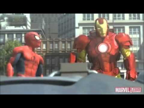 Man Ending Ending(spider Man,hulk And