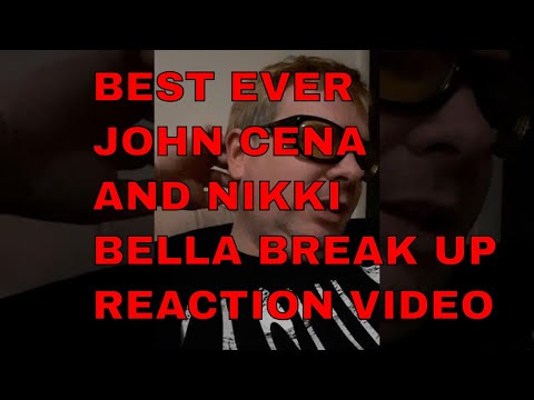 John Cena & Nikki Bella break up Reaction!
