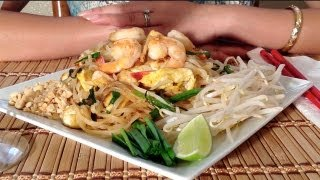 Pad Thai-How To Make Pad Thai-How To Cook Pad Thai-How To Cook Thai Food Recipes-Tofu-Thai Recipes