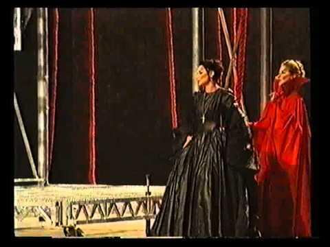 Karmena Radovska as Eboli -- Nel Giardino del Vello in Don Carlo by Verdi