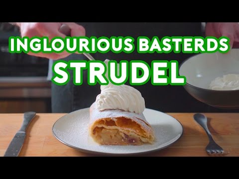 Chef Recreates the Strudel from Inglourious