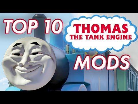 Top 10 Thomas the Tank Engine Mods