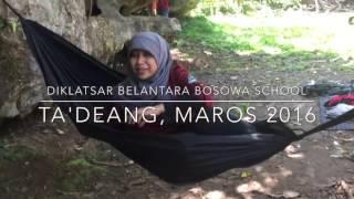 Video Diklatsar Belantara Bosowa School Makassar : Ta'Deang , Maros Sulawesi Selatan MP3, 3GP, MP4, WEBM, AVI, FLV Maret 2018