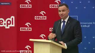 Taki prezydent to wstyd dla Polaków. Totalny bełkot i kompromitacja.