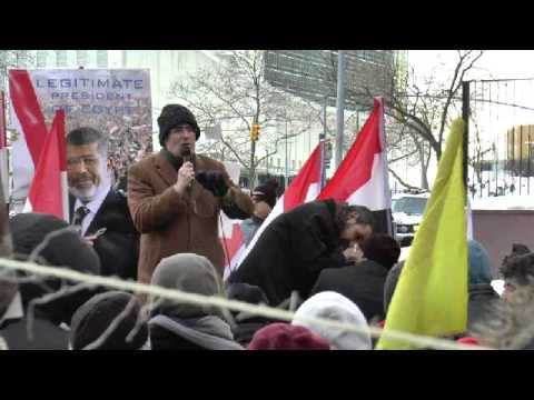 كلمة الدكتور جمال حشمت من امام الأمم المتحدة في الذكري الخامسة لثورة يناير