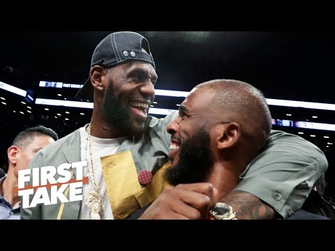 Video: Chris Paul is a 'perfect fit' with LeBron & Anthony Davis on the Lakers – Max Kellerman | First Take