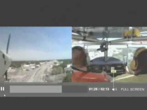 Incredible Emergency Landing in Winter Haven FL, USA