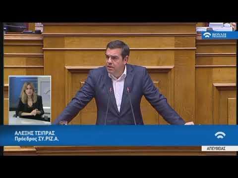 Α.Τσίπρας (Πρόεδρος ΣΥ.ΡΙΖ.Α)(Εκλογική διαδικασία)(11/12/2019)