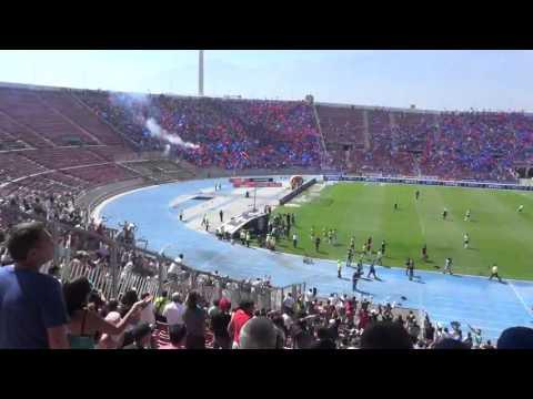 Entrada de Colo Colo al Superclásico - Garra Blanca - Colo-Colo