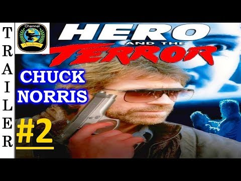 Hero And The Terror - 1988 - Trailer #2 HD 🇺🇸 - CHUCK NORRIS.