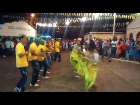 Apresentação da Quadrilha Junina Do Gravatá de Cima - Governador Mangabeira-BA