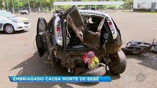 Motorista embriagado causa a morte de uma bebê de três meses em Assis