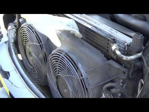 Mercedes Benz Ml320  radiator replacement